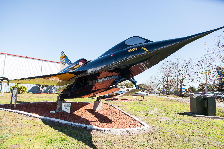 Convair F2Y Sea Dart, at Florida Air Museum, Lakeland