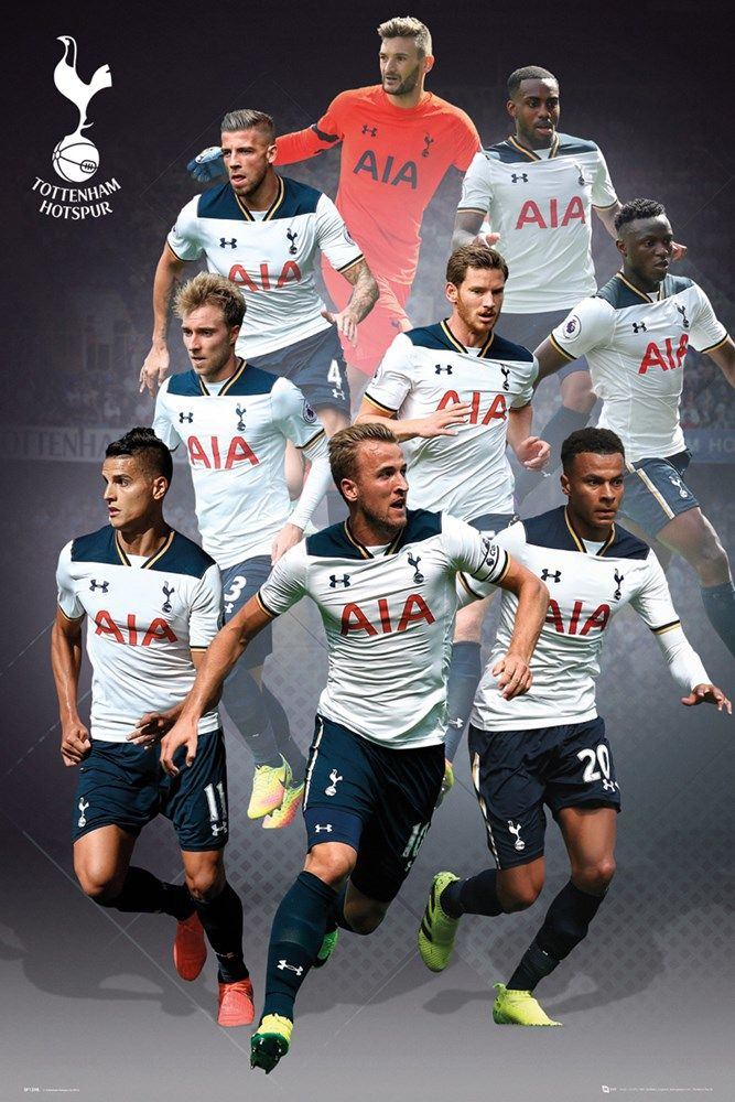 reputable site 00abe 19b2f Tottenham Players 16/17 Maxi Poster | UK Store | Oneposter ...