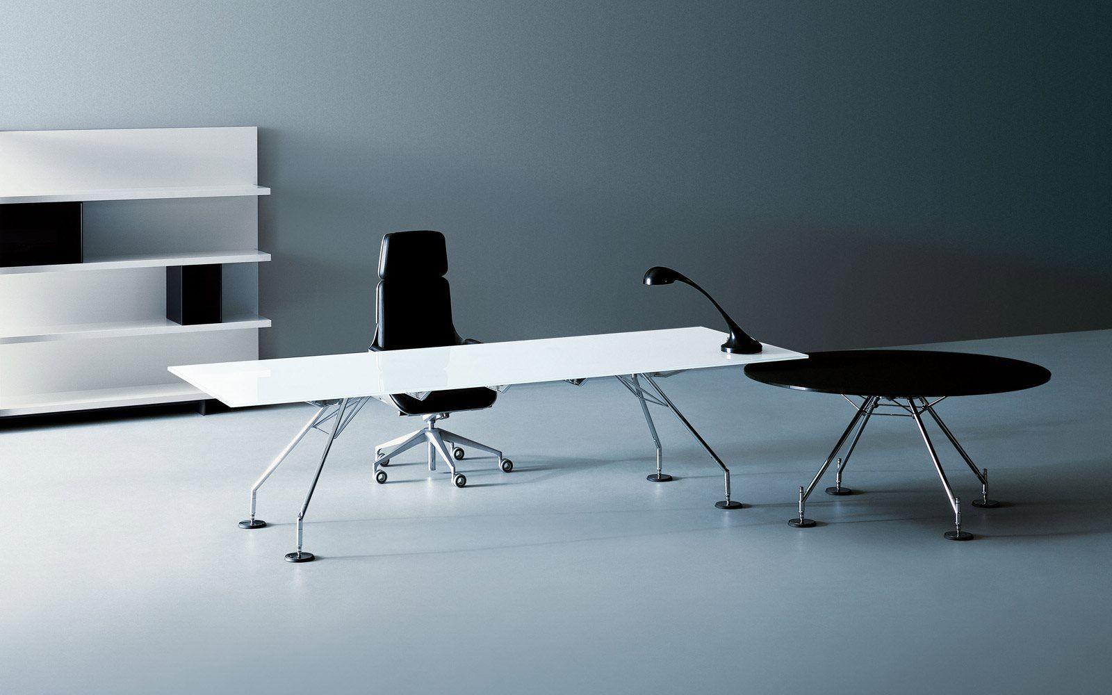 Contract Furniture Executive Desk Nomos By Tecno Office  # Muebles Norman Foster