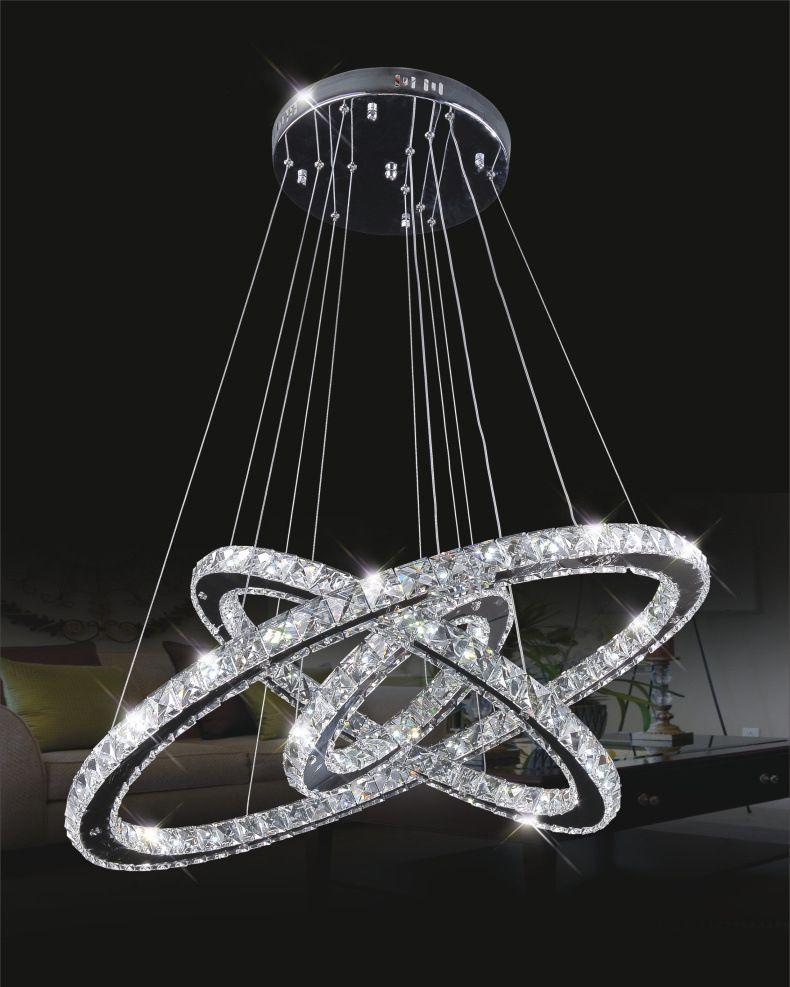 Luxurious modern hot selling 123 ring diamond crystal light luxurious modern hot selling 123 ring diamond crystal light fixture led stainless aloadofball Choice Image