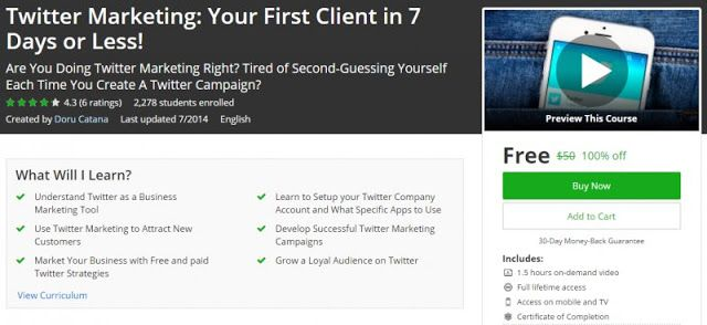 100 off twitter marketing your first client in 7 days or less