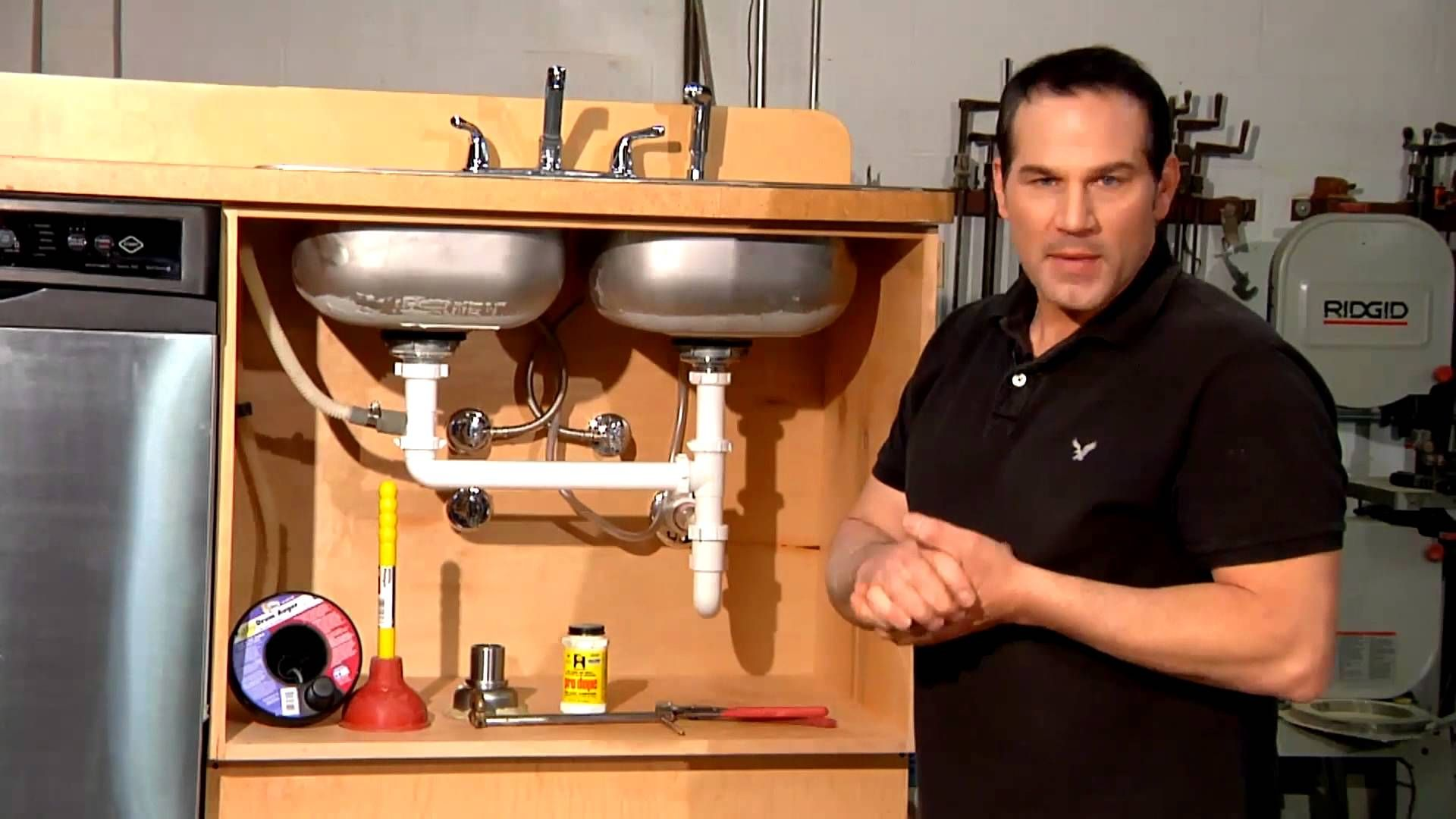 How To Repair A Leak Under The Sink Home Sweet Home Repair With