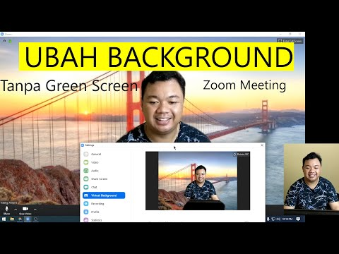5938 Cara Mengganti Background Zoom Virtual Background Youtube Youtube Video Teman