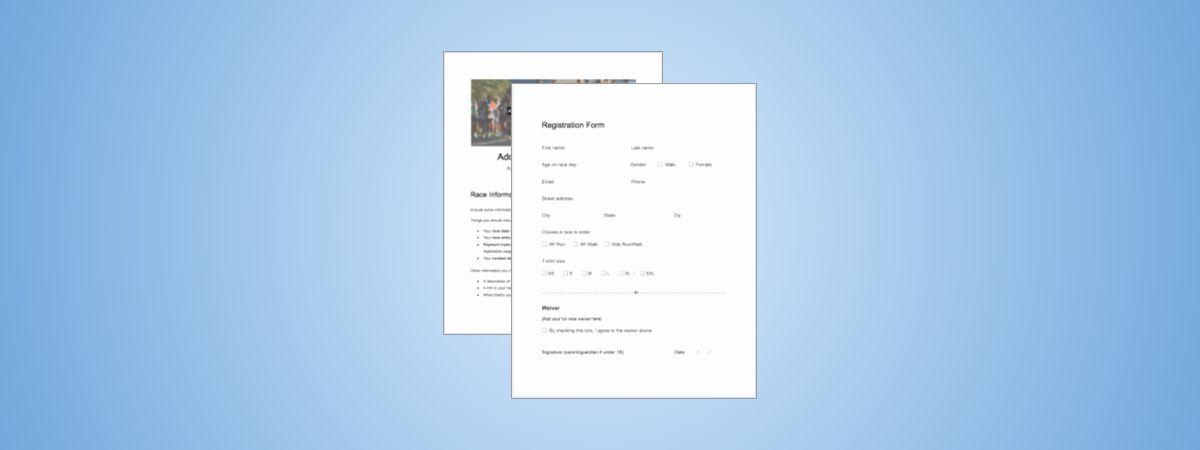 5k race registration form template awesome 5k registration