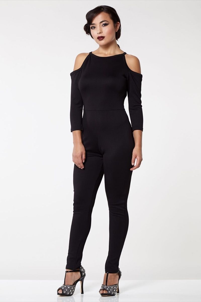 3edc7e1969f3 1920s Vintage Inspired Jumpsuit in Black - SOLD OUT in 2019