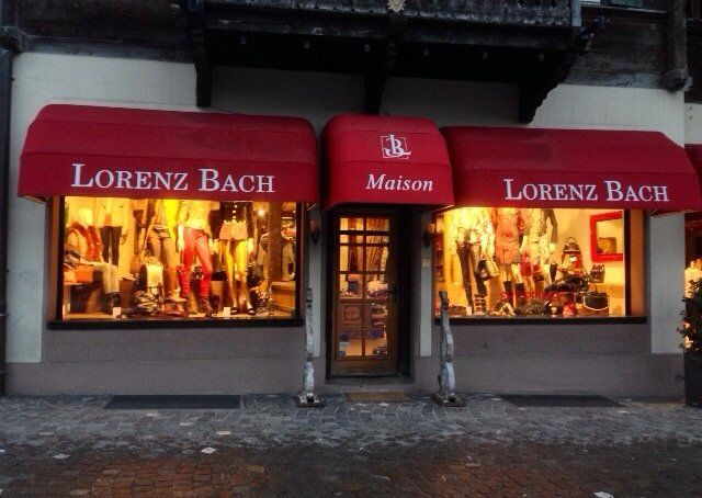 Maison Lorenz Bach - Small stupid store with worthless sales representative! - Gstaad, Bern, Switzerland