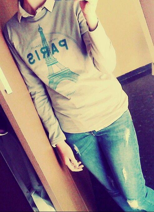 Zara jeans & Zara T-shirt