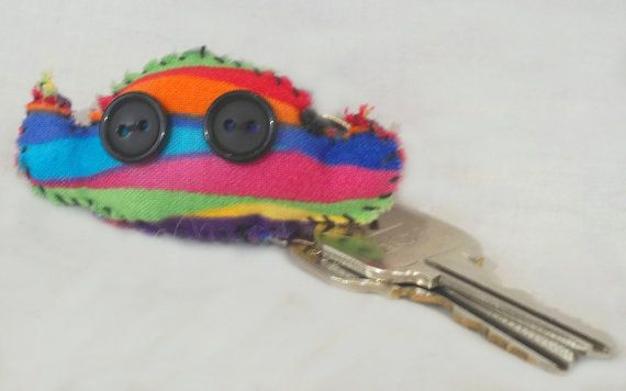 Henry the Hearing Monster Keychain Comfort by HowellJRCompany