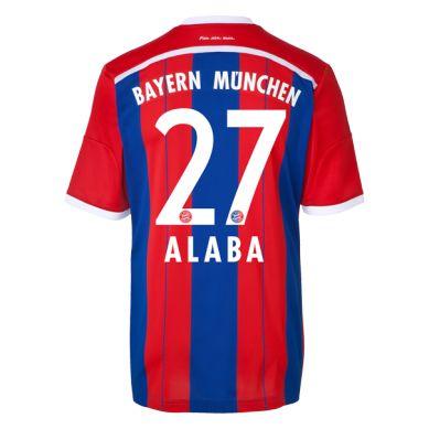best website ca9da e5651 David Alaba #27 Bayern Munich 15/16 Jersey   Numbers ...