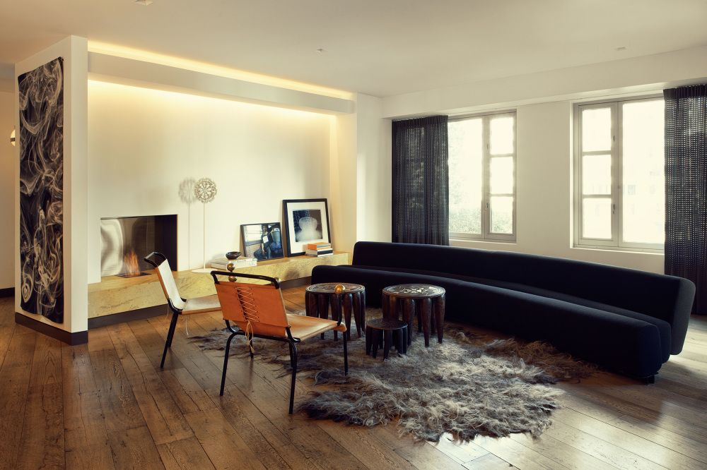 The Archers Interior Design Group / Third Floor Apartment, Nyc