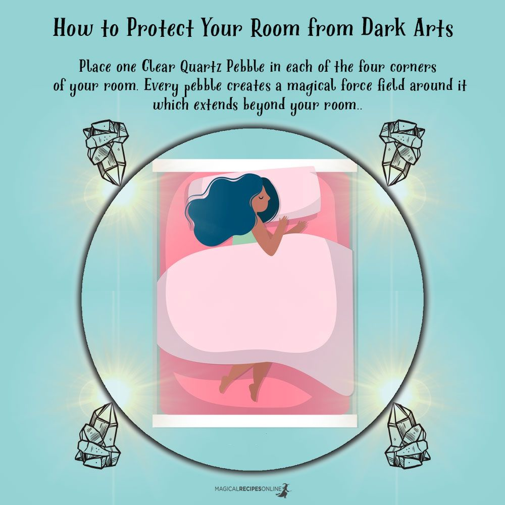How to Protect Your Room from Dark Arts - Magical Recipes Online #modernwitch