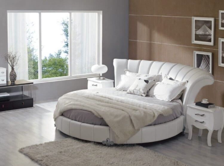 10 Exquisite Modern And Classic Round Beds For Your Sleep Space In