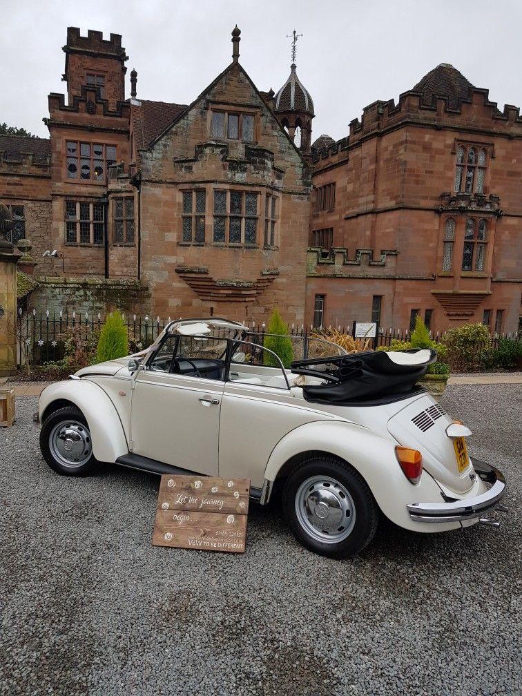 Tori our VW Beetle our fab vintage VW wedding Car