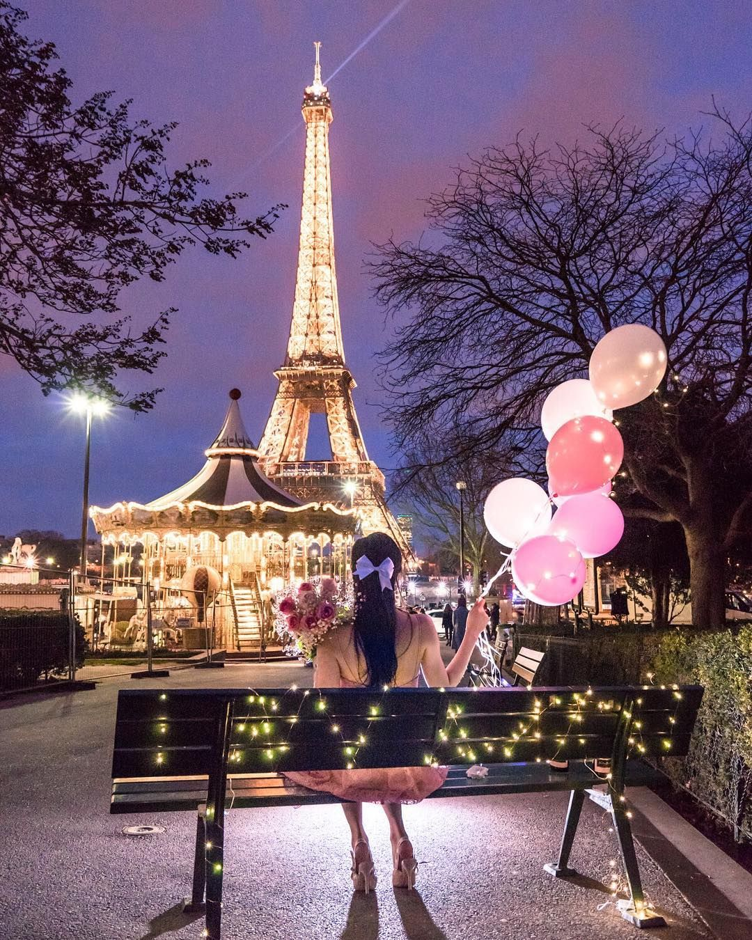 Agical Nights In Paris By Bisousparis Edited By Me I Always Get Asked How I Am Able To Enjoy Travel Paris Tour Eiffel Paris Photography Eiffel Tower