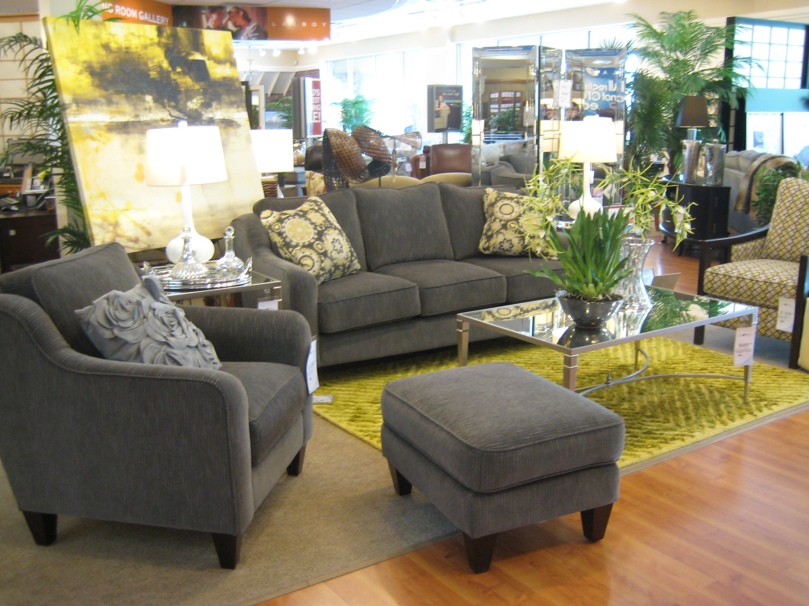 Talbot Sofa And Chair With A Sam Moore Accent Look How