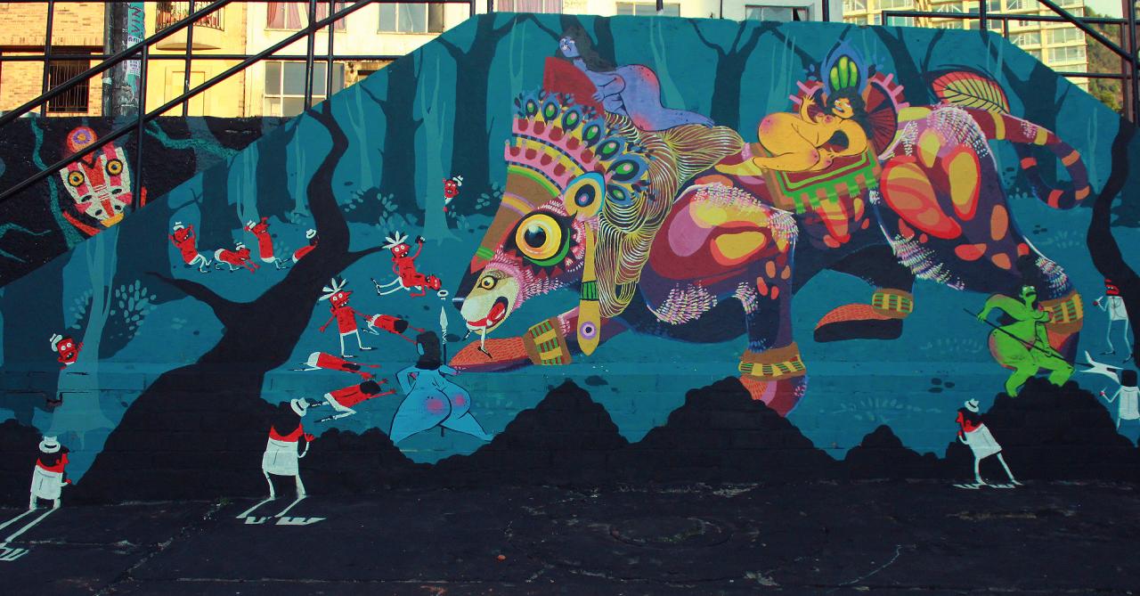 Saga Uno and Gleo (2014) - Bogota (Colombia)