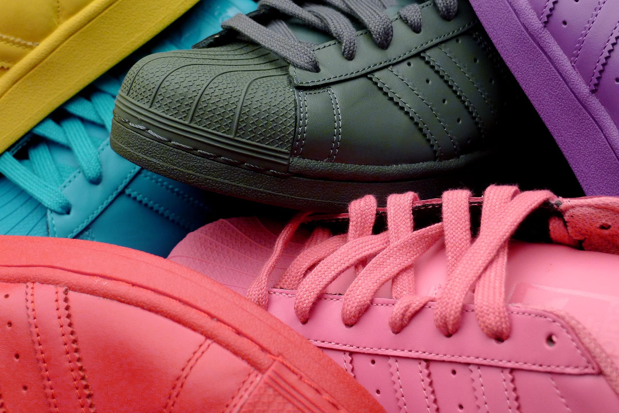 Adidas Superstar Colors Pharrell