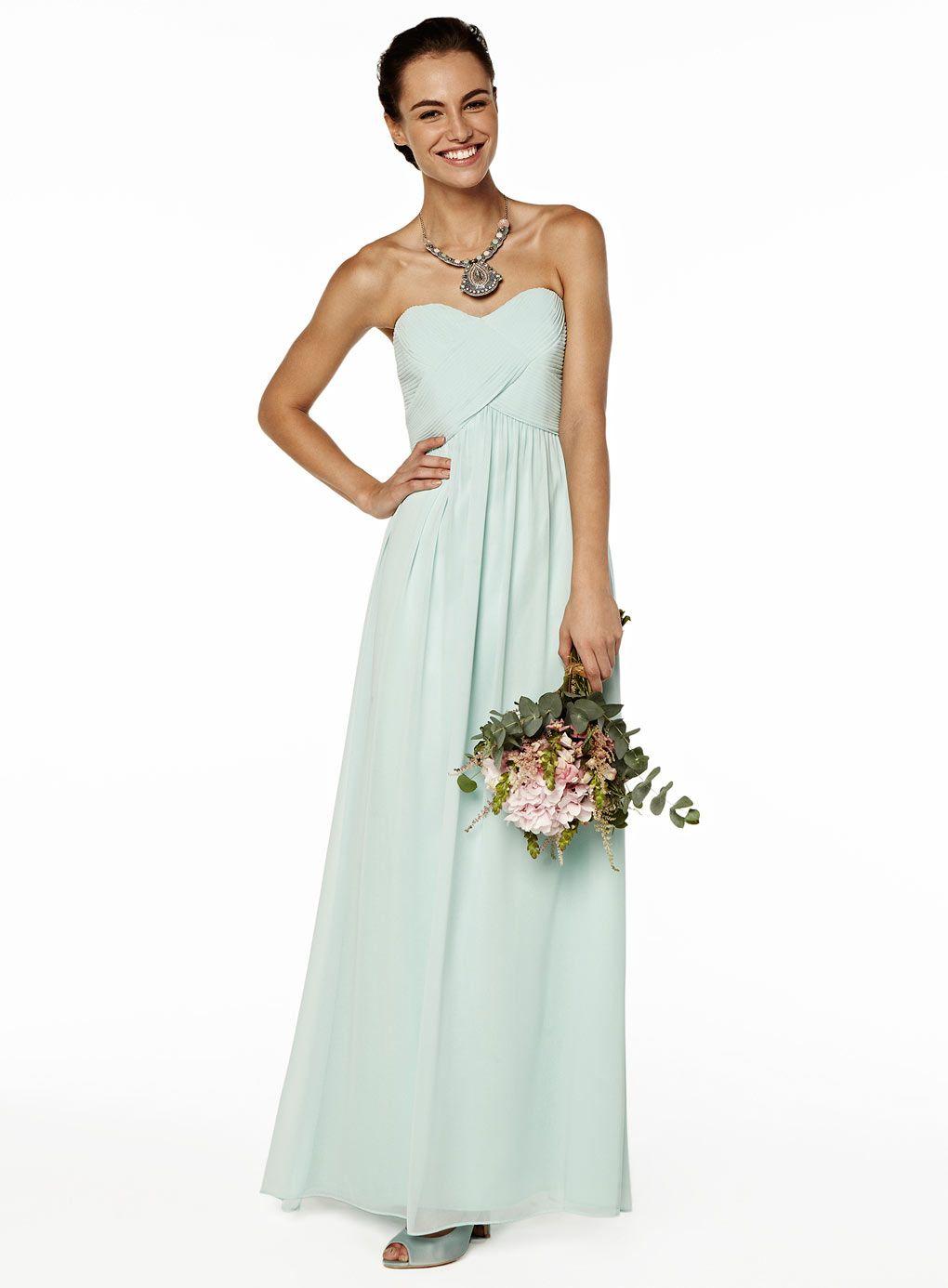 Darcy Mint Long Dress Bridesmaids X