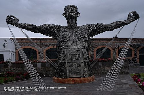 "#Ecuador #fotos MUSEO HISTÓRICO - CULTURAL ""FÁBRICA TEXTIL IMBABURA"" - ATUNTAQUI - ECUADOR"