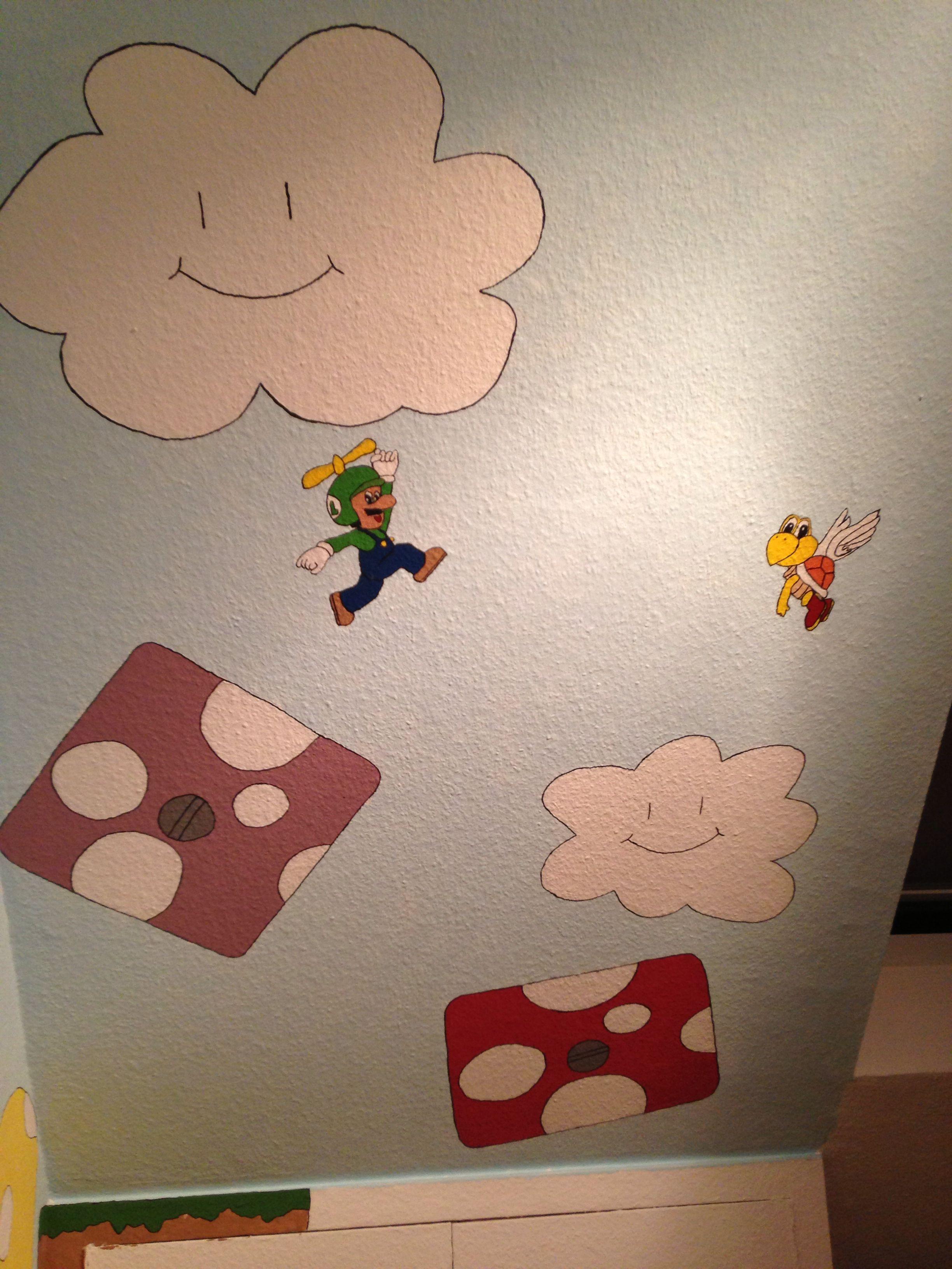 Fantastisch Super Mario Kinderzimmer Zeitgenössisch - Die ...