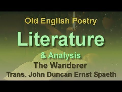 old english poem the wanderer  literature  pinterest  college  old english poem the wanderer