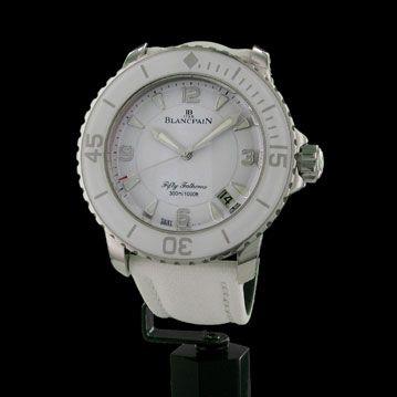 840be7e00e BLANCPAIN - Fifty Fathoms White, cresus montres de luxe d'occasion, http: