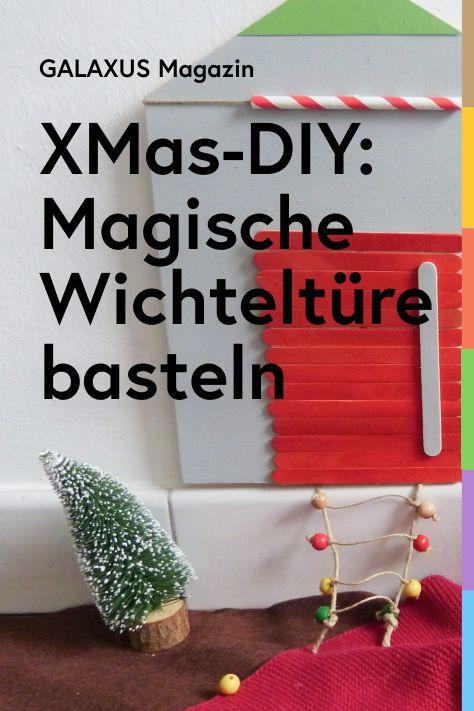 In diesem Jahr zieht bei Yvonne in der Weihnachtszeit ein Wichtel ein. Dafür hat sie ihm eine passende Türe gebastelt. Sie zeige dir, wie es geht, damit auch du einem Wichtel ein Obdach geben kannst.