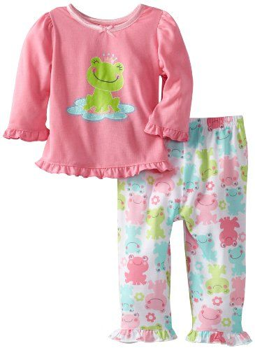 Little Me Baby-girls Infant Princess Frog 2 Piece Pajama, Pink Print, 24 Months Little Me,http://www.amazon.com/dp/B00B8NGYFI/ref=cm_sw_r_pi_dp_HPWLsb05Q7GK8E5N