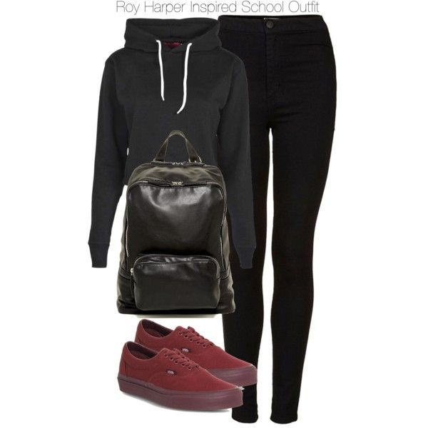 Arrow - Roy Harper Inspired School Outfit