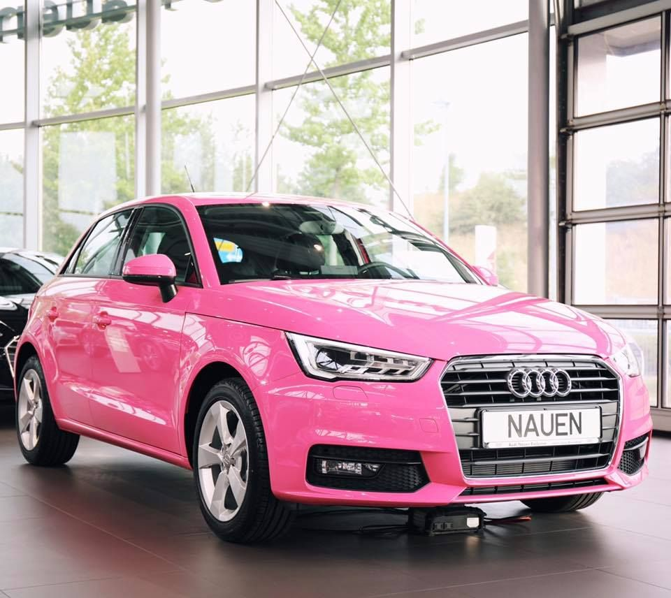 So Hot Or So Not What Do You Think The Audi A1 In Telemagenta