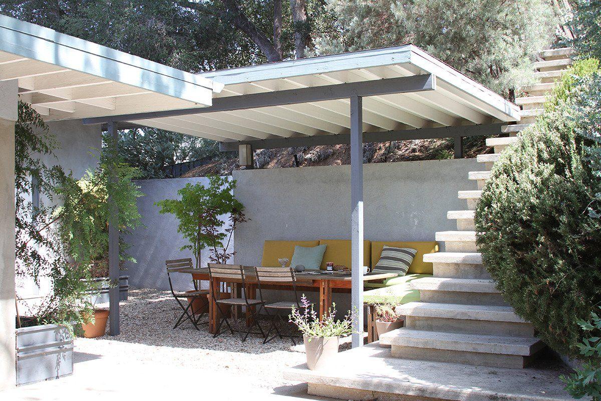 Heinz & Veronique's Mid-Century Home + Prefab Cabin + Studio House Tour | Apartment Therapy
