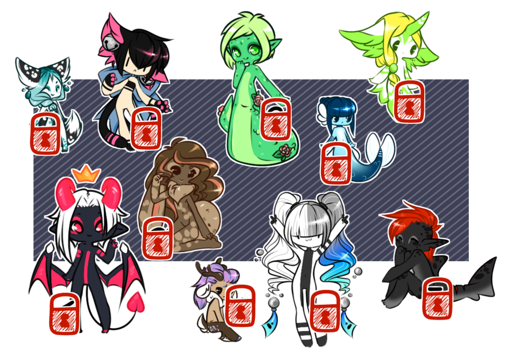 Teeny Adopts [[ SOLD ]] by Omega-Fluff