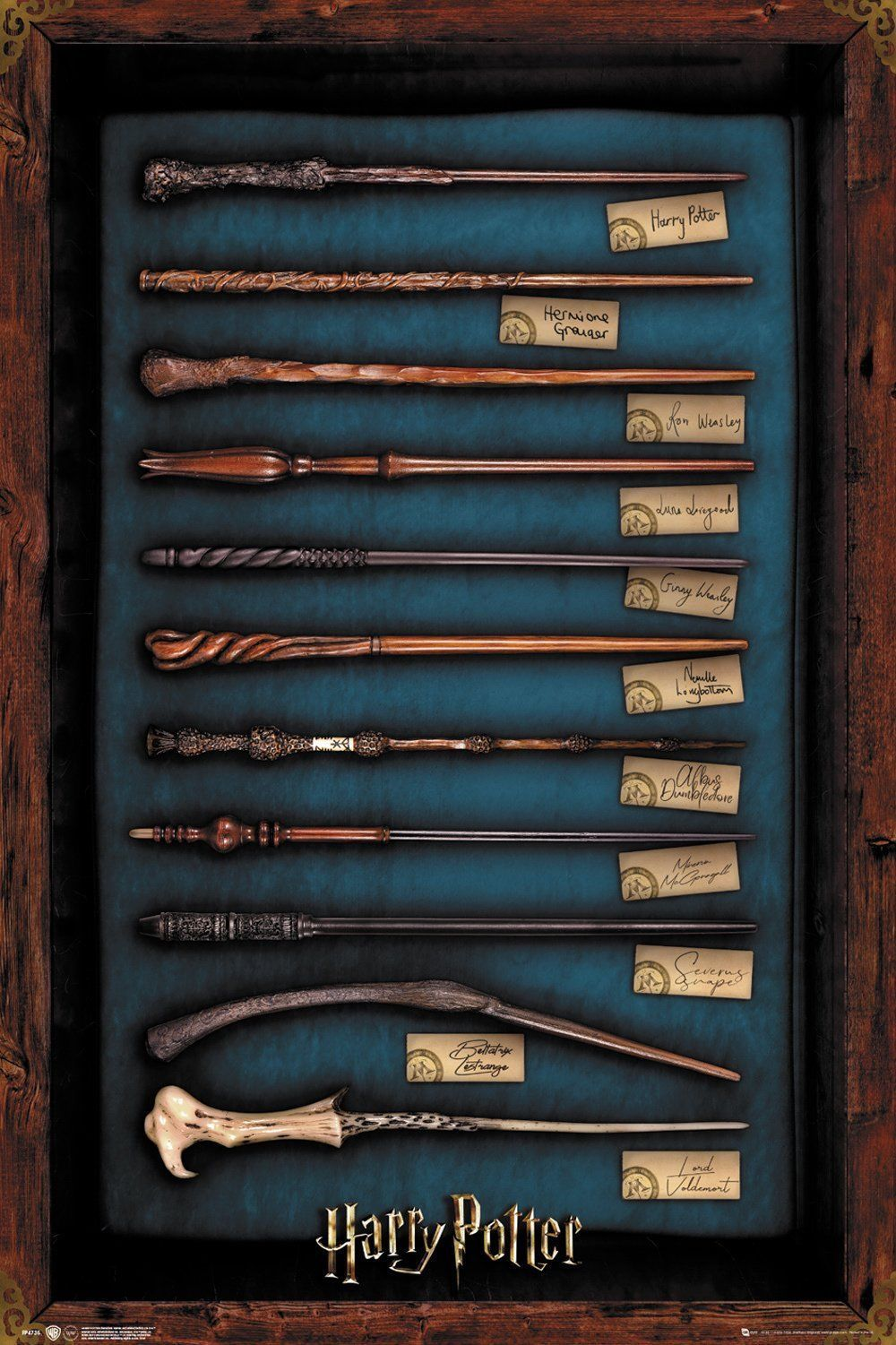Harry Potter - Movie Poster / Print (The Wands Of Harry Potter) (24