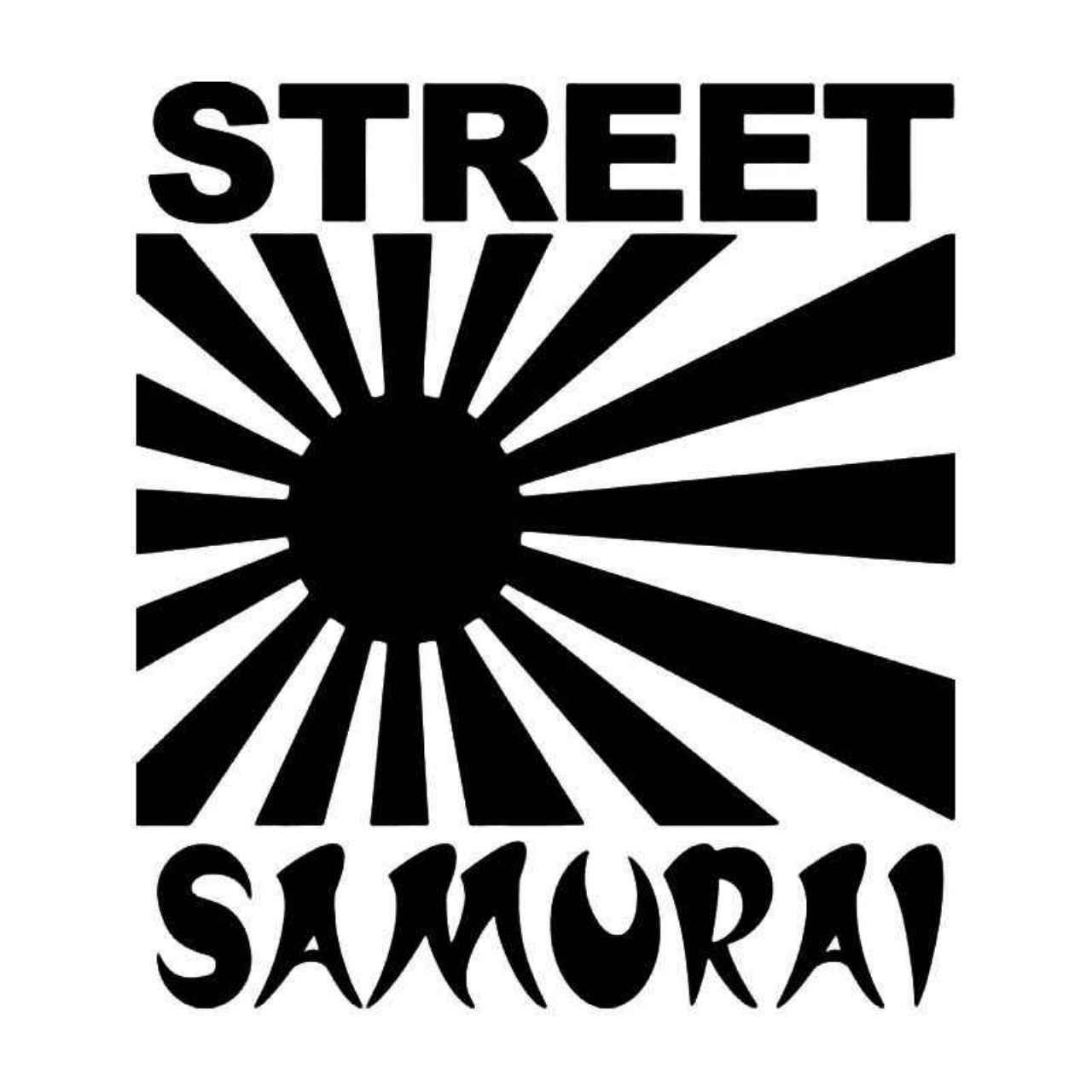 Street samurai rising sun jdm japanese vinyl decal sticker ballzbeatz com car decals vinyl
