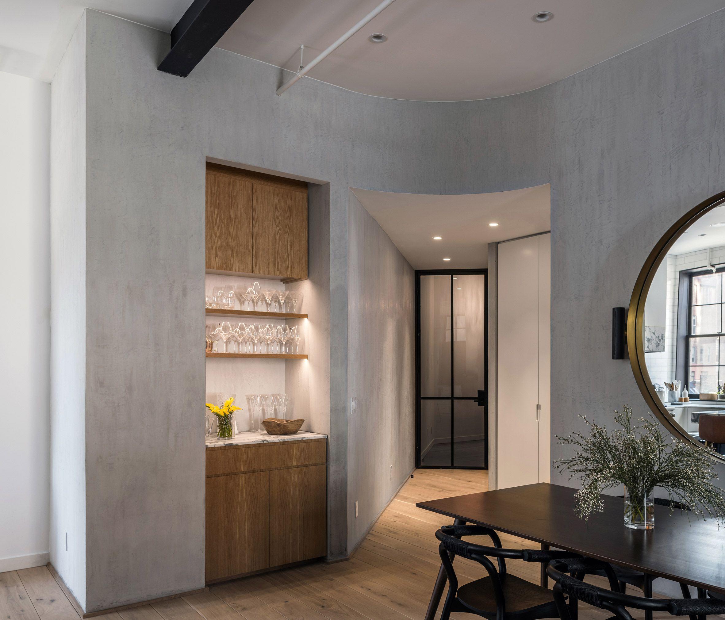 Manhattan New York Studio Apartments: Worrell Yeung Updates Apartment In Former Manhattan Hotel
