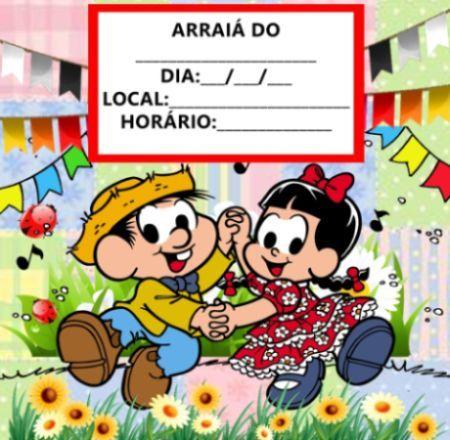 Ideias de Convites de Aniversário Infantil Tema Festa Junina ...