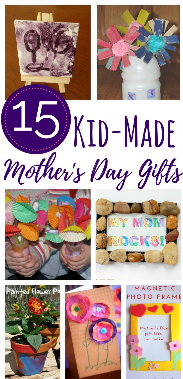 15 Homemade Mother's Day Gift that Kids Can Make
