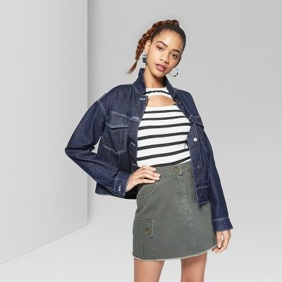 "1c69ca55d Women's Cargo Skirt - Wild Fableâ""?20Olive L #Skirt, #Cargo, #Women ..."