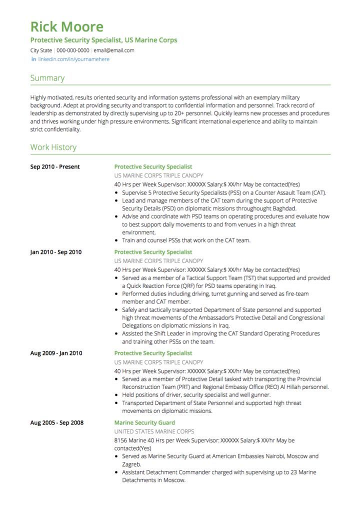 Resume Examples United States Resume Examples Pinterest Resume