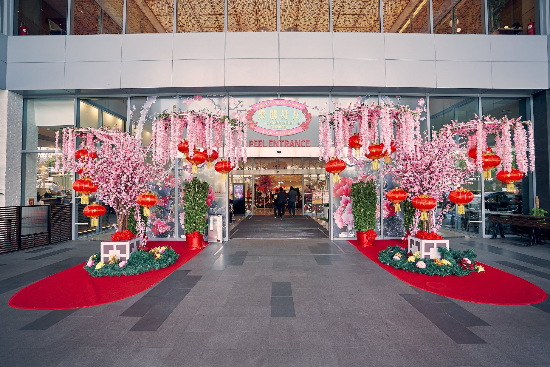 Entrance Sunway Velocity Mall_Lunar New Year decoration_0 ...