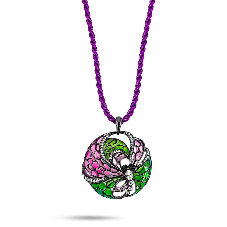 Kaleidoscope Diamond Necklace
