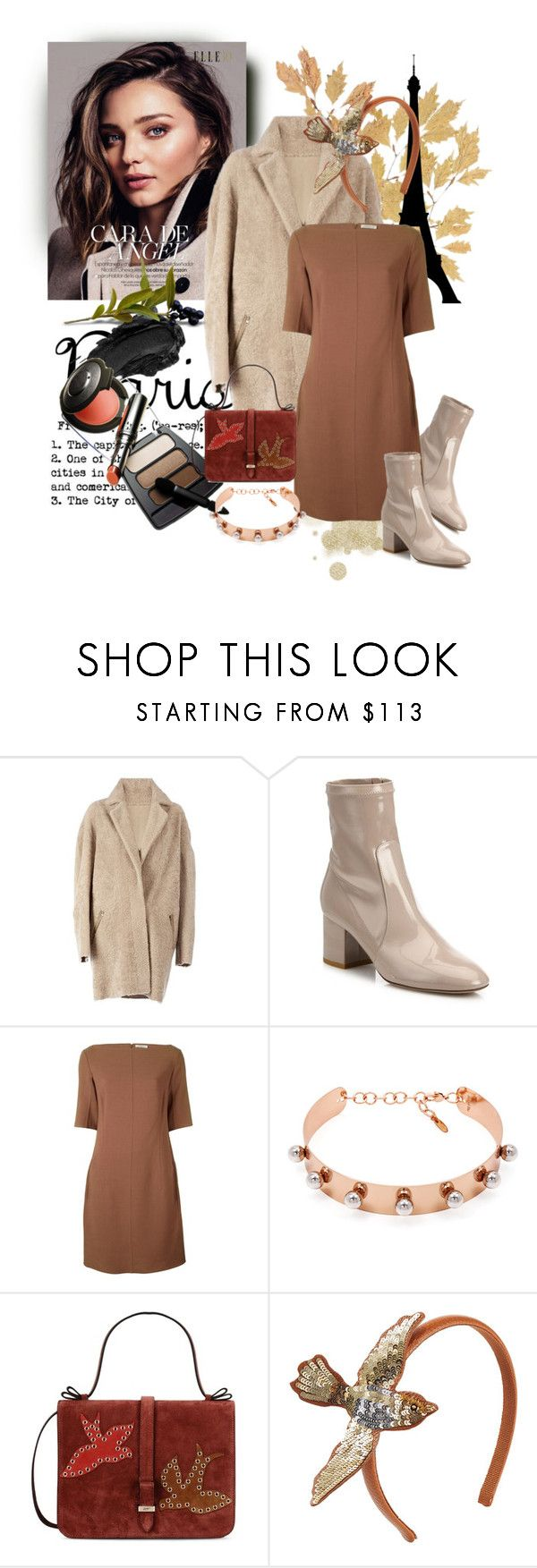 """""""October 30"""" by anny951 ❤ liked on Polyvore featuring Urban Decay, 32 Paradis Sprung Frères, Valentino, Nina Ricci, Joomi Lim and RED Valentino"""