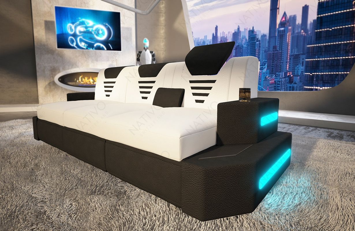 3 Sitzer Sofa Nemesis Mit Relaxfunktion Bei Nativo Mobel Oesterreich Sofa Design Gunstige Sofas Ledersofa