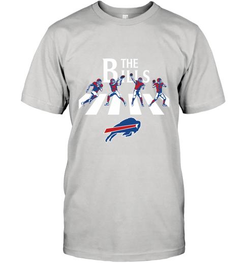 Nfl Buffalo Bills The Beatles Abbey Road Walk T Shirt Nfl Buffalo Bills Nfl Funny T Shirt