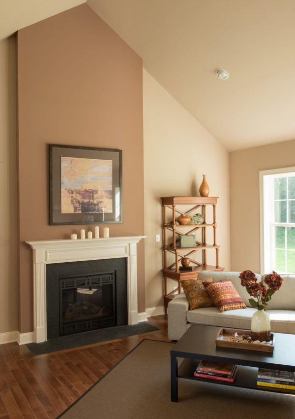 Pin By Custom Home Group On Fireplaces High Ceiling Living Room Paint Colors For Living Room Living Room Paint