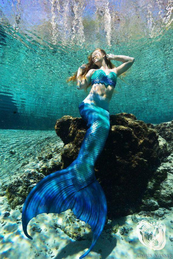 Statement Clutch - Underwater Mermaid by VIDA VIDA wrledAHF
