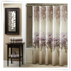 Fabric Shower Curtains Curtains Ombre Shower Curtain Fabric