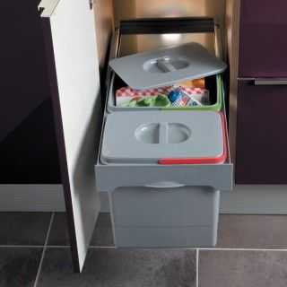 Poubelles Poubelle Sous Evier Poubelle Poubelle Coulissante