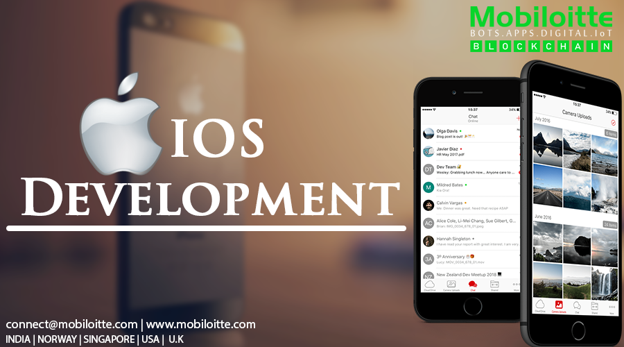 Mobiloitte being a top iOS mobile app development company