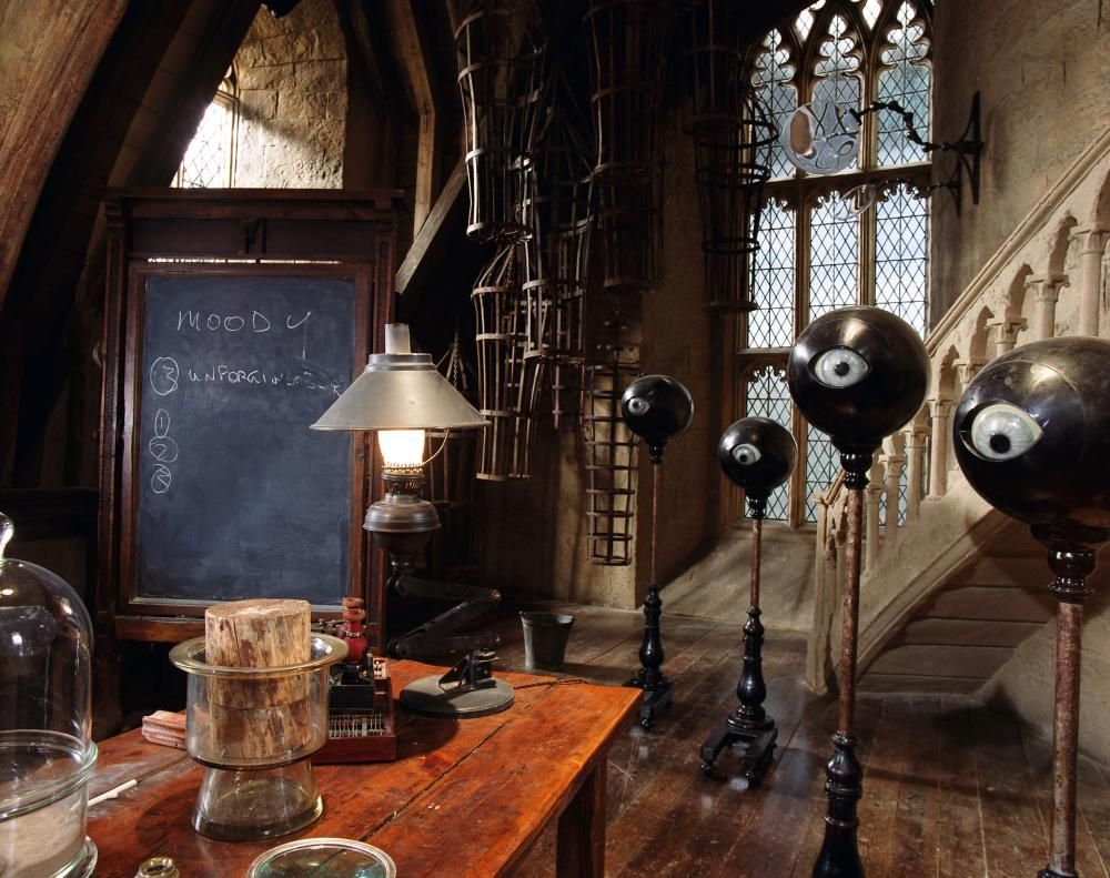 Professor Moody S Defence Against The Dark Arts Classroom Goblet Of Fire Hogwarts Harry Potter Harry